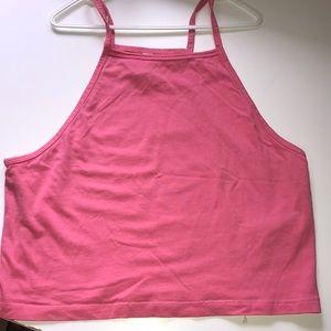 H&M Pink 'Halter' Top